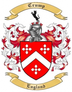 Crump Family Crest From England By The Tree Maker