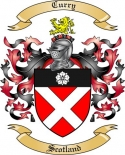 Curry Family Coat of Arms from Scotland