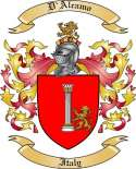 D'Alcamo Family Coat of Arms from Italy