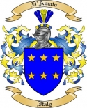 D'Amato Family Coat of Arms from Italy2