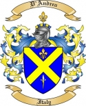 D'Andrea Family Coat of Arms from Italy
