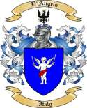 D'Angelo Family Coat of Arms from Italy3