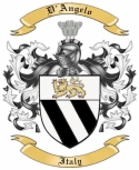 D'Angelo Family Coat of Arms from Italy