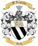 D'Angiolo Family Coat of Arms from Italy