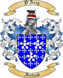 D'Arcy Family Coat of Arms from Ireland