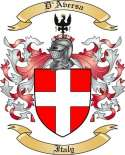 D'Aversa Family Crest from Italy