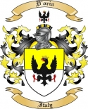 D'oria Family Coat of Arms from Italy