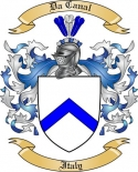 Da Canal Family Crest from Italy2