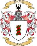 Da Vico Family Crest from Italy