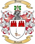 Daase Family Crest from Ireland
