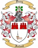 Dacey Family Coat of Arms from Ireland