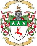 Dade Family Coat of Arms from Ireland