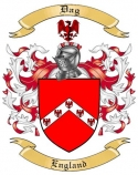 Dag Family Coat of Arms from England