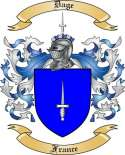 Dage Family Crest from France
