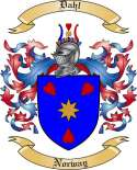 Dahl Family Coat of Arms from Norway
