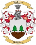 Dahlem Family Crest from Germany