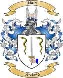 Daia Family Coat of Arms from Ireland