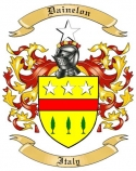 Dainelon Family Coat of Arms from Italy
