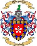 Daingerfield Family Crest from England