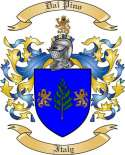 Dal Pino Family Coat of Arms from Italy