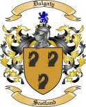 Dalgaty Family Coat of Arms from Scotland