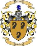 Dalketty Family Crest from Scotland