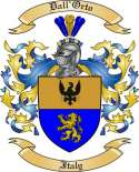 Dall'Orto Family Coat of Arms from Italy2