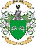 Dall'Orto Family Crest from Italy