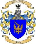 Dalla Penna Family Crest from Italy