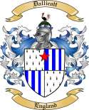 Dallicott Family Coat of Arms from England