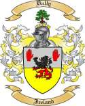 Dally Family Coat of Arms from Ireland
