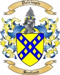 Dalrimple Family Coat of Arms from Scotland