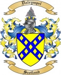 Dalrympel Family Coat of Arms from Scotland