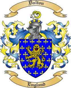 Dalton Family Coat of Arms from England