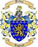 Dalton Family Crest from England