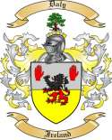 Daly Family Crest from Ireland