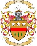 Danelutti Family Crest from Italy