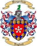 Dangerfield Family Crest from England