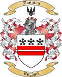 Dannton Family Coat of Arms from England
