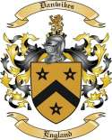 Danwikes Family Crest from England