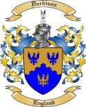 Darbison Family Crest from England