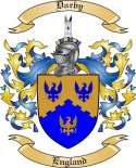 Darby Family Coat of Arms from England