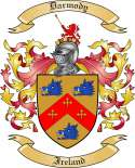 Darmody Family Crest from Ireland