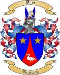 Dase Family Crest from Germany