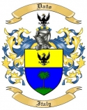 Dato Family Crest from Italy