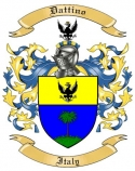 Dattino Family Coat of Arms from Italy