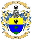 Dattoli Family Crest from Italy