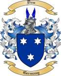 Dau Family Crest from Germany