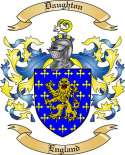 Daughton Family Coat of Arms from England