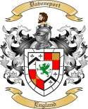 Daveneport Family Crest from England